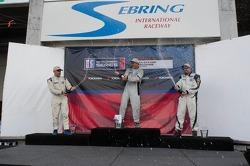 Race #1 Platinum Class Podium: Tim McKenzie, Fernando Pena, Michael Mills