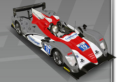 Sébastien Loeb Racing livery unveil on the ORECA 03