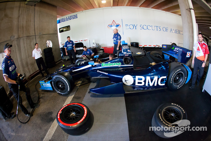 Car of Rubens Barrichello, KV Racing Technology Chevrolet