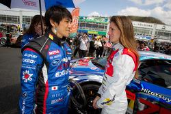 Tetsuya Yamano and Cyndie Allemann
