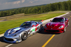 Dodge SRT Viper GTS-R that will race in the American Le Mans Series in 2012