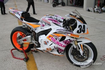 34 - Anthony Aliern - Honda CBR 600 - Racing Team 2A