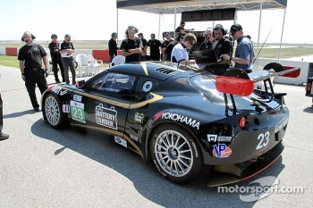 Alex Job Racing tests the Lotus Evora GTE