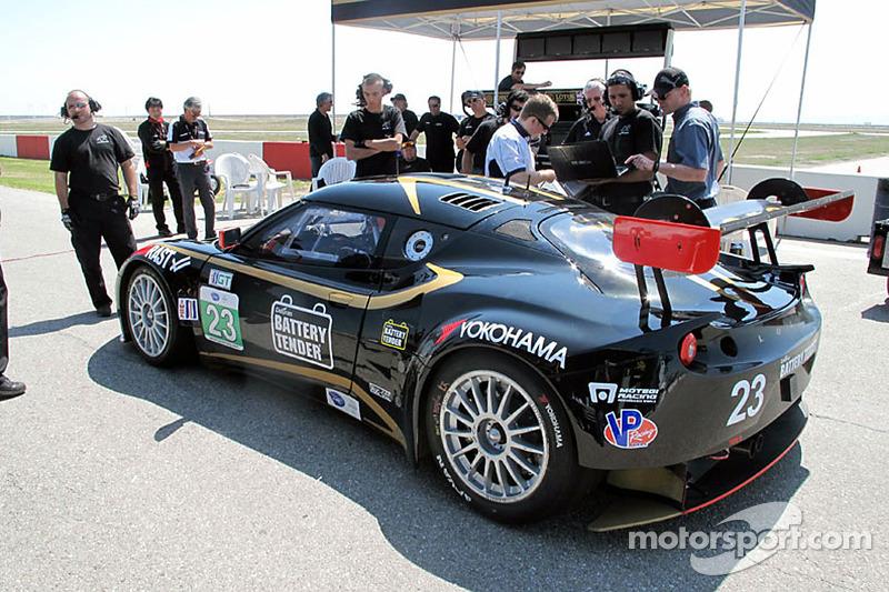 Alex Job Racing tests the Lotus Evora GTE