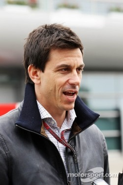 Toto Wolff, Williams Non Executive Director