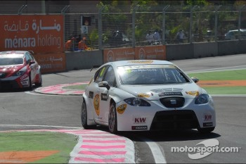 Andrea Barlesi, SEAT Leon WTCC, SUNRED Engineering