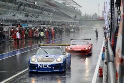 #74 ProSpeed Competition Porsche 997 GT3 R: Paul Van Splunteren, Dylan Derdaele, Maxime Soulet