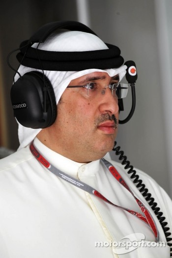 Sheikh Mohammed bin Essa Al Khalifa, CEO of the Bahrain Economic Development Board and McLaren Shareholder