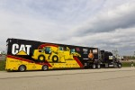 Jeff Burton's hauler