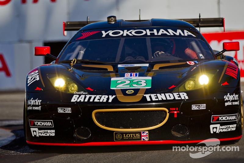 #23 Lotus / Alex Job Racing Lotus Evora: Bill Sweedler, Townsend Bell