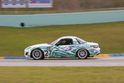 #27 Freedom Autosport Mazda MX-5: Steve Phillips, Tyler Cooke