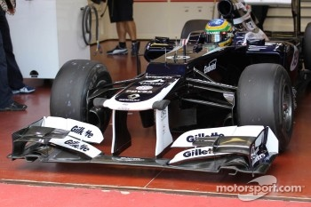 Bruno Senna, Williams F1 Team front wing