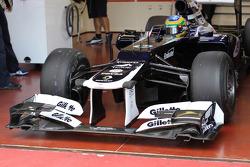 Bruno Senna, Williams F1 Team front wing