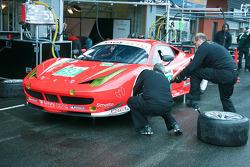 #59 Luxury Racing Ferrari F458 Italia: Frédéric Makowiecki, Jaime Melo