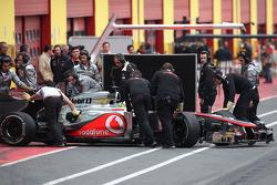 Oliver Turvey, McLaren Mercedes