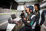 GSR&Studie with Team Ukyo pitwall