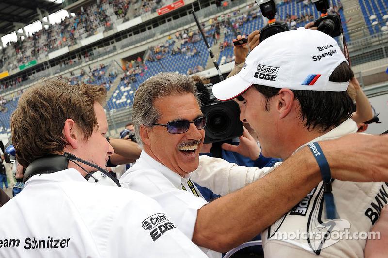 Pole position for Bruno Spengler, BMW Team Schnitzer BMW M3 DTM