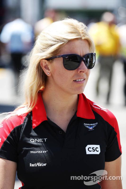 Maria De Villota, Marussia F1 Team Test Driver