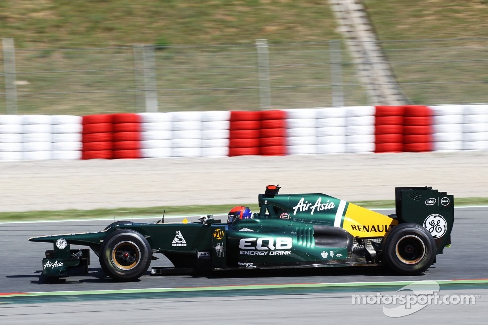 Alexander Rossi, Caterham Test Driver