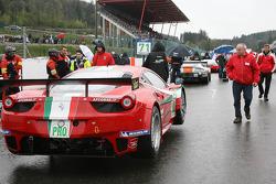 #71 AF Corse Ferrari 458 Italia: Andrea Bertolini,Olivier Beretta