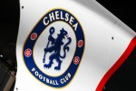Chelsea FC badge on the Sauber