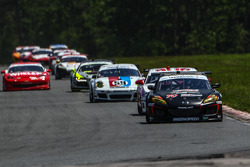 #70 SpeedSource MazdaSpeeed Modspace Mazda Rx-8:  Sylvain Tremblay gained the lead in GT Class
