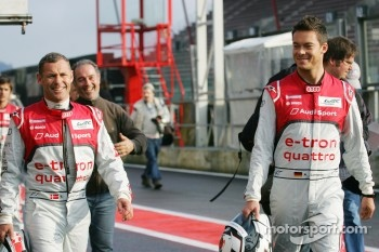 Tom Kristensen and Andre Lotterer