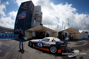 #65 Hankook-Team Heico Mercedes-Benz SLS AMG GT3 at technical inspection