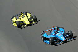 Josef Newgarden, Sarah Fisher Hartman Racing Honda, Bryan Clauson, Sarah Fisher Hartman Racing Honda