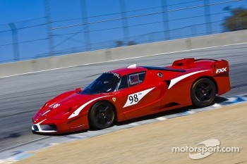 Ferrari FXX demonstration