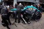 Pit stop for #18 Vita4one Racing Team BMW Z4 GT3: Pedro Lamy, Marco Wittmann, Jens Klingmann, Richard Göransson