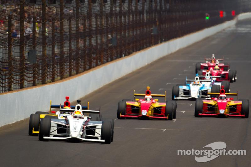 Victor Carbone, Sam Schmidt Motorsports leads the field