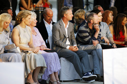 Eddie Irvine, at the Amber Lounge Fashion Show