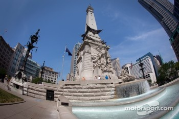 Indiana Soldiers' and Sailors' Monument in downtown Indianapolis