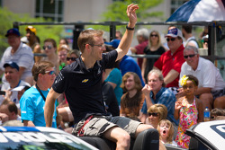 Indy 500 festival parade: Sébastien Bourdais, Dragon Racing Chevrolet