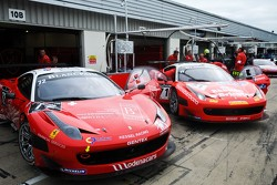 #72 Kessel Racing Ferrari 458 Italia: Gino Forgione, Claude-Yves Gosselin, Marc Rostan