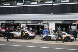 Marc VDS cars prepare to qualify