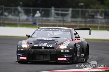 #35 GT Academy Team RJN Nissan GT-R GT3: Chris Ward, Jann Mardenborough, Alex Buncomb
