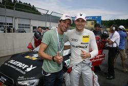 Andreas Kofler, Skijumper and Edoardo Mortara, Audi Sport Team Rosberg Audi A5 DTM
