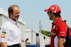 Joseph Lieberer, Sauber Physio with Felipe Massa, Scuderia Ferrari