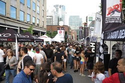 Downtown Montreal on Cresent street