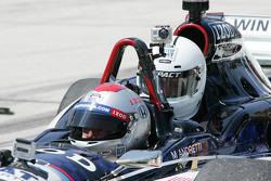 Mario Andretti and Travis Pastrana
