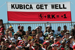 Banner for Robert Kubica