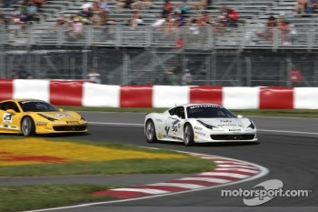 Jose Valera Ferrari of Ft Lauderdale 458CS, Onofrio Triarsi Ferrari of Central Florida 458TP