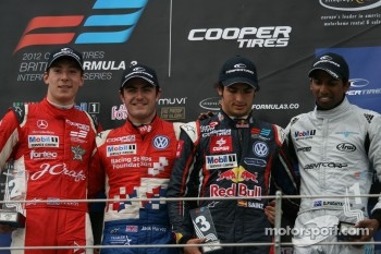 Alex Lynn, Jack Harvey, Carlos Sainz Jr., Duvashen Padayachee