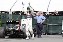 3rd place Sergio Perez, Sauber F1 Team