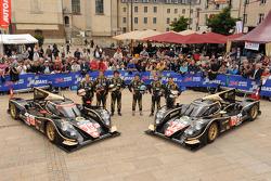 #12 Rebellion Racing Lola B12/60 Coupe Toyota: Nicolas Prost, Neel Jani, Nick Heidfeld, #13 Rebellion Racing Lola B12/60 Coupe Toyota: Andrea Belicchi, Harold Primat, Jeroen Bleekemolen