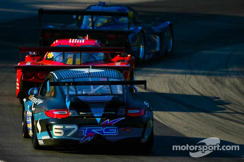 #67 TRG Porsche GT3 Cup: Steven Bertheau, Spencer Pumpelly