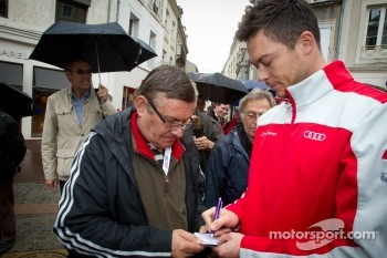 Hand imprint ceremony: Andre Lotterer