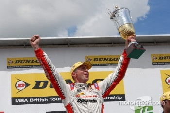 Round 10 Race Winner Matt Neal